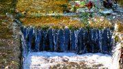 Leitschienen als Entwässerungsrinnen